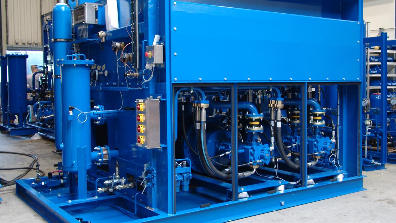 Hệ thống thủy lực trong công nghiệp